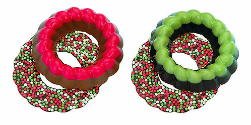 Belgian Chocolate Wreaths 10 pcs in pvc box