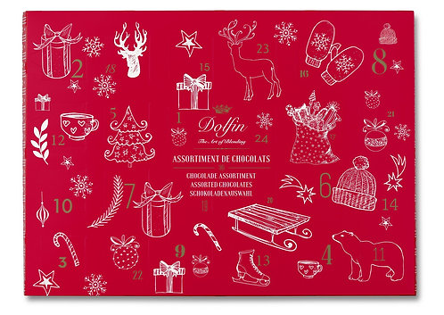 Belgian Chocolate Advent Calendar