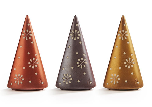 Belgian Chocolate Decorated Shimmery Christmas Tree