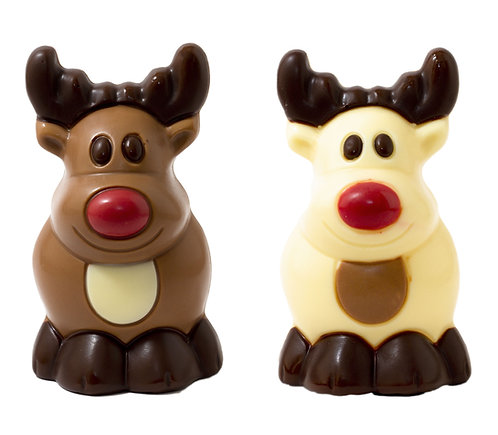 Belgian Chocolate Rudolph the Reindeer