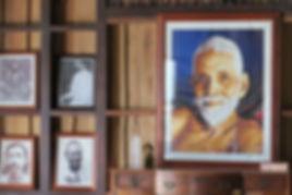 P1_Sri Ramana Maharshi Portrait At Sat Y