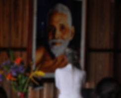 P3_Yogini Looking At Sri Ramana Maharshi