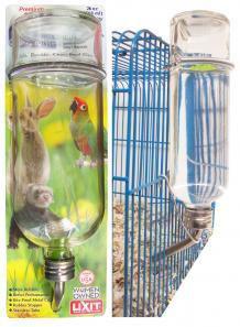 Large Bottle on card bottle on cage comb