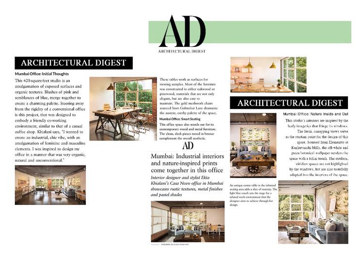 Architectural Digest - Casa Novo Office