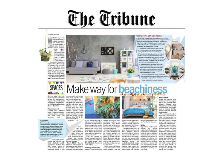 The Tribune - Make Way for Beachiness