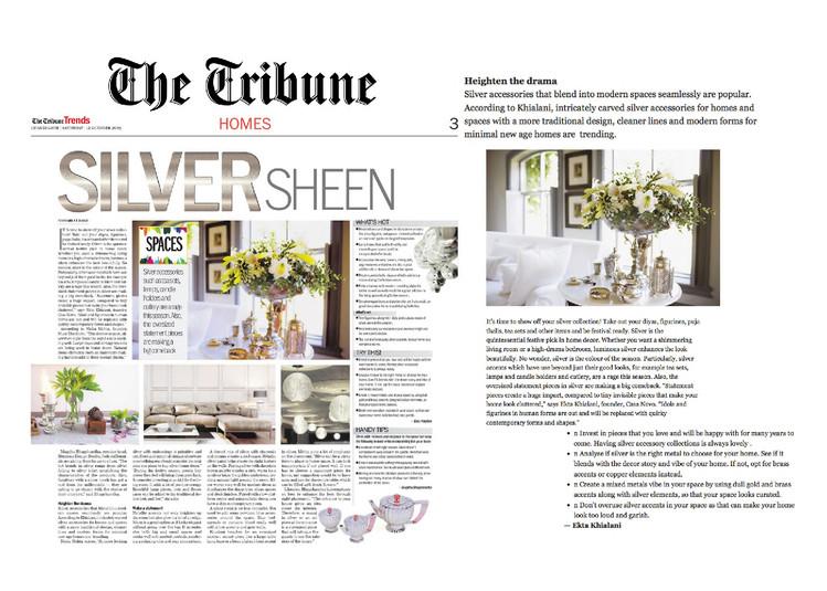 The Tribune - Silver Sheen