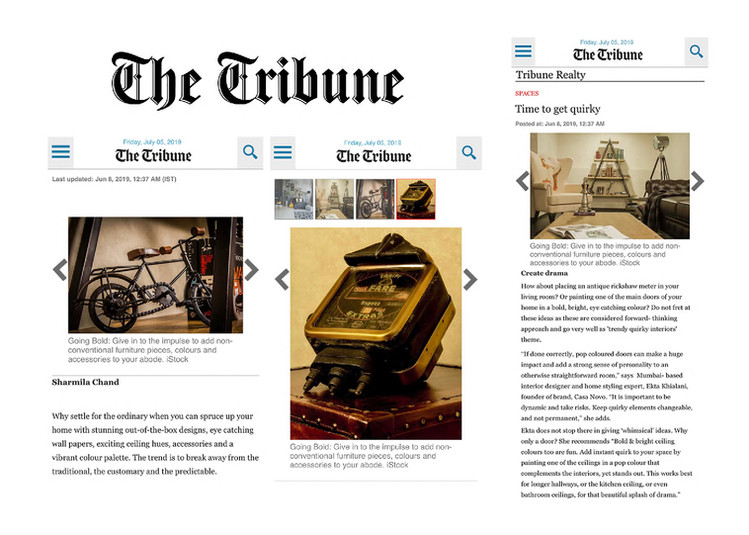 The Tribune - Time to get Quirky
