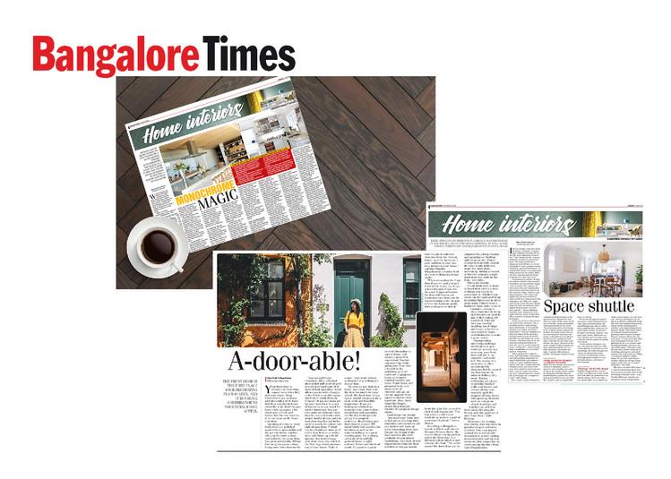 Bangalore Times - Home Interiors