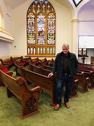 David Church Pew Restoration 1