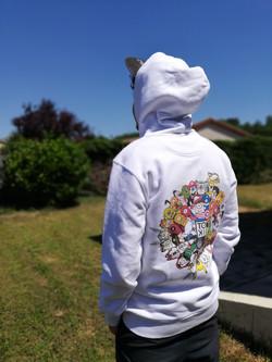 Oeuvre textile Vangart