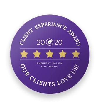 Emerge Phorest Client Experience AWARD 2