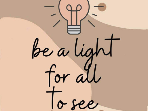 The Light of Jesus in Me