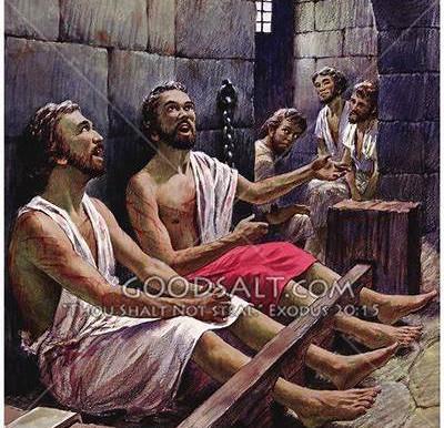 Praise Him In Your Prison