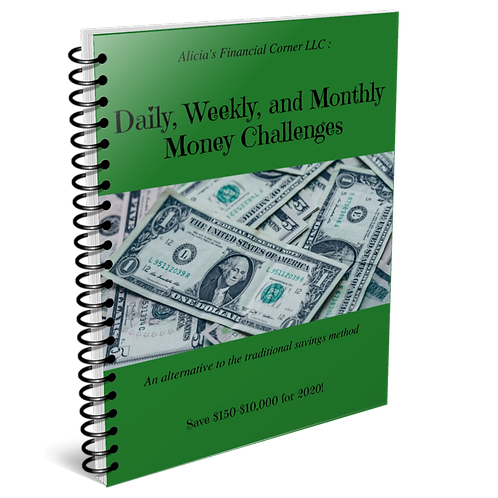 Daily, Weekly, and Monthly Money Challenges