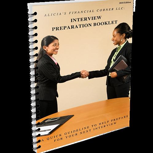 Interview Preparation Booklet-Digital