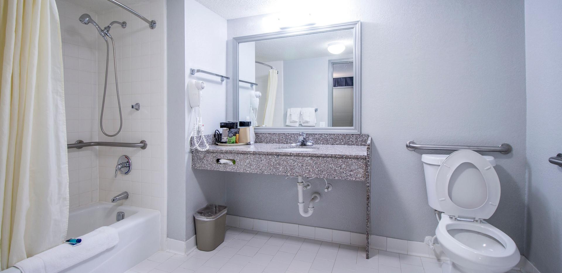 King Accessible Bathroom