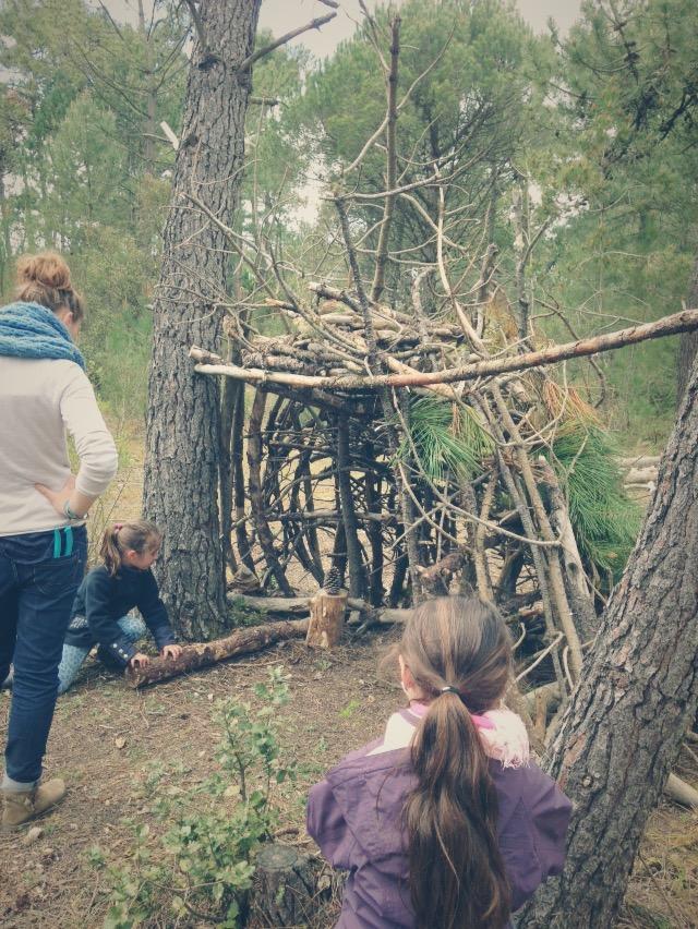 RDV Famille Trappeur en forêt