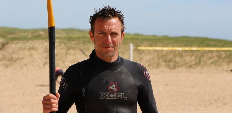 Sylvain : éducateur en voile et kayak