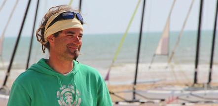 Jean-Baptiste : Responsable technique adjoint char à voile, éducateur de voile et de char à cerf-volant