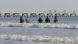 Cours de marche aquatique