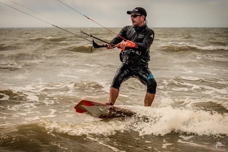 François : Responsable Technique Kite-Surf, éducateur de Voile et de Char à voile
