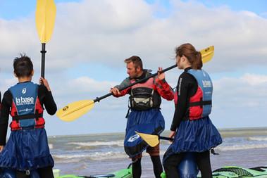 Cours de kayak de mer