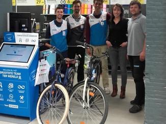 Decathlon schenkt vier fietsen aan ADO Icarus Dendermonde