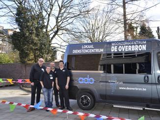Nieuw busje voor collega's Neder-Over-Heembeek