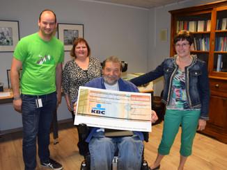 Luminus Hasselt quizt 755 euro bij elkaar voor ADO Icarus