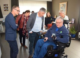 Minister Vandeurzen op bezoek tijdens Dag van de Zorg