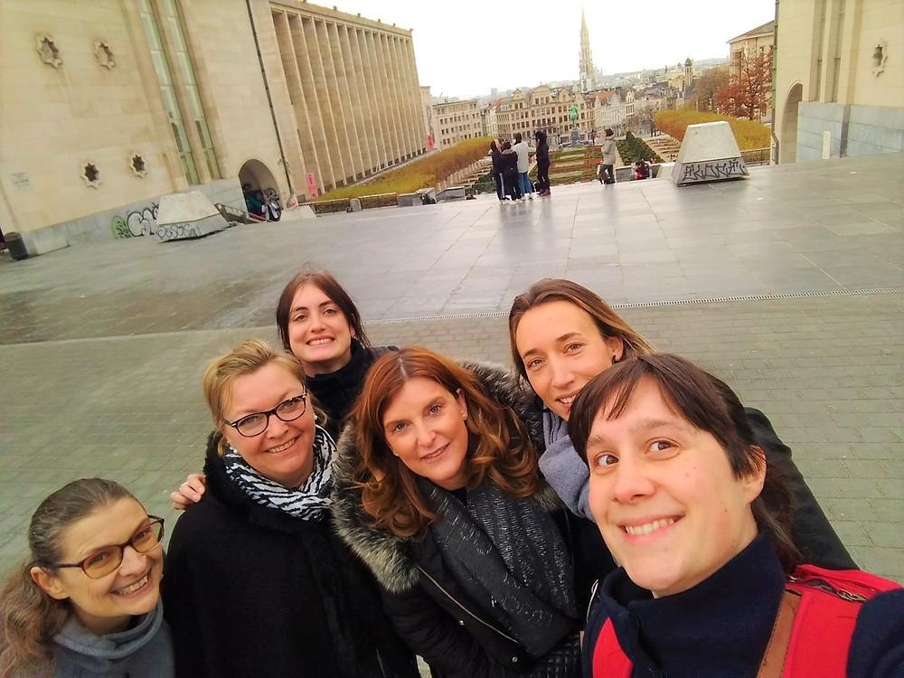 RTH-medewerkers in Brussel