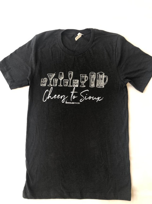 Cheers to Sioux Adult Tee Shirt