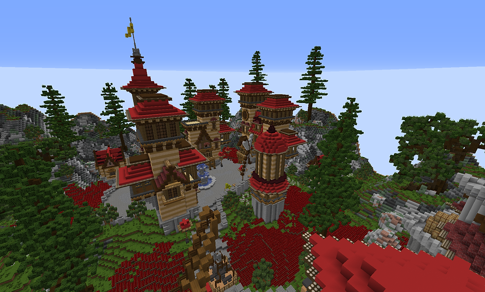 Red Themed Hub