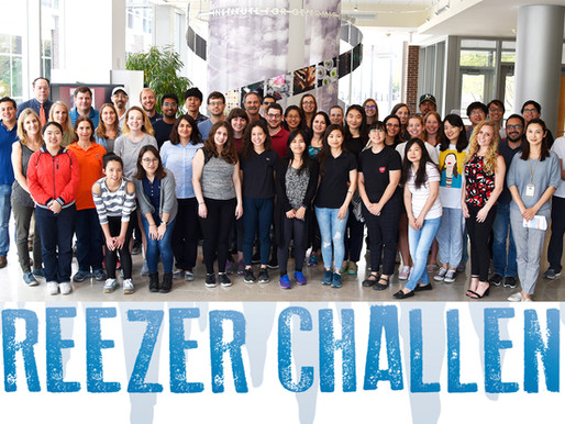 We Won The Freezer Challenge For The Second Time!! 2019!