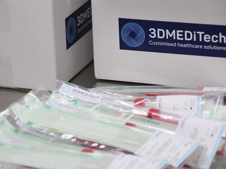 3DMEDiTech contracted as only local supplier of swabs to Australian Government National Stockpile