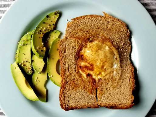 Egg in a Basket ~ Avo-Toast Edition
