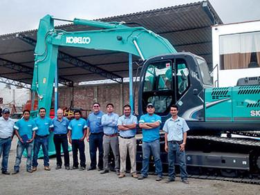 Kobelco en Perú