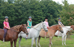Kids and their horses