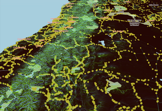 Modelo digital de elevacion