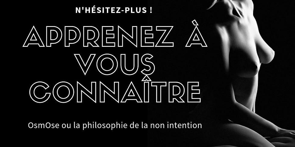 Conférence OsmOse, philosophie de la non-intention