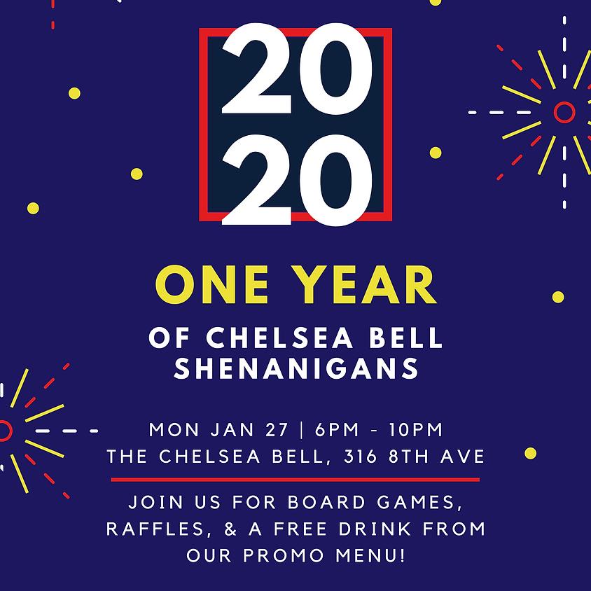 Chelsea Bell Shenanigans 1 YR Celebration