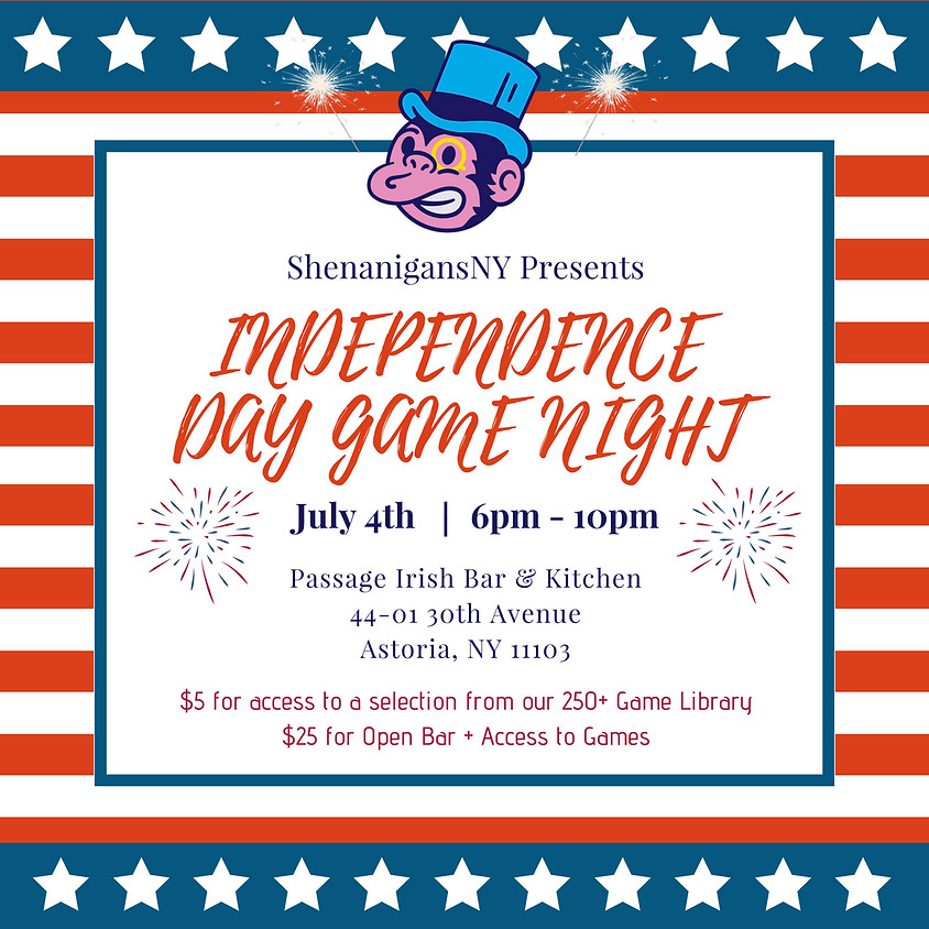 Independence Day Game Night
