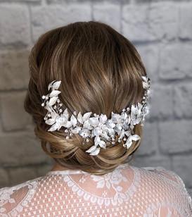 bridal hair updo
