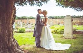 Classic elegant bridal hair style