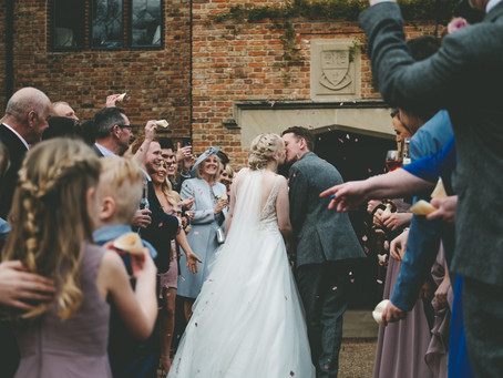 A beautiful indoor ceremony @theoldhall for Lucy and Toms wedding in March.