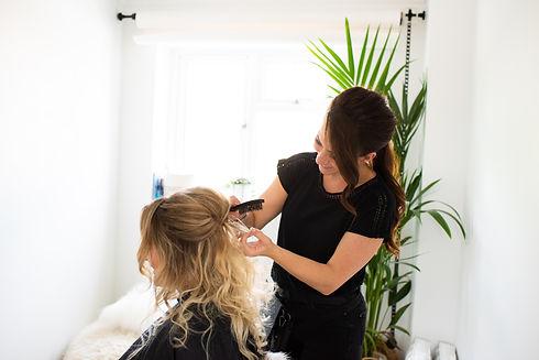 cambridge wedding hair stylist
