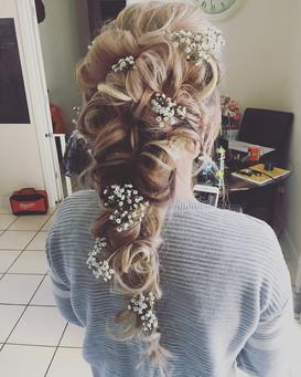 boho fairy tail romantic hair bride