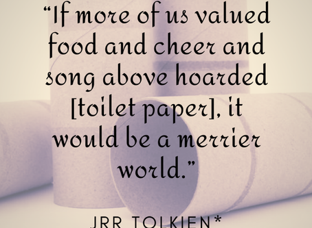 Why Writing is Responsible for the Toilet Paper Shortage - Op-Ed Piece