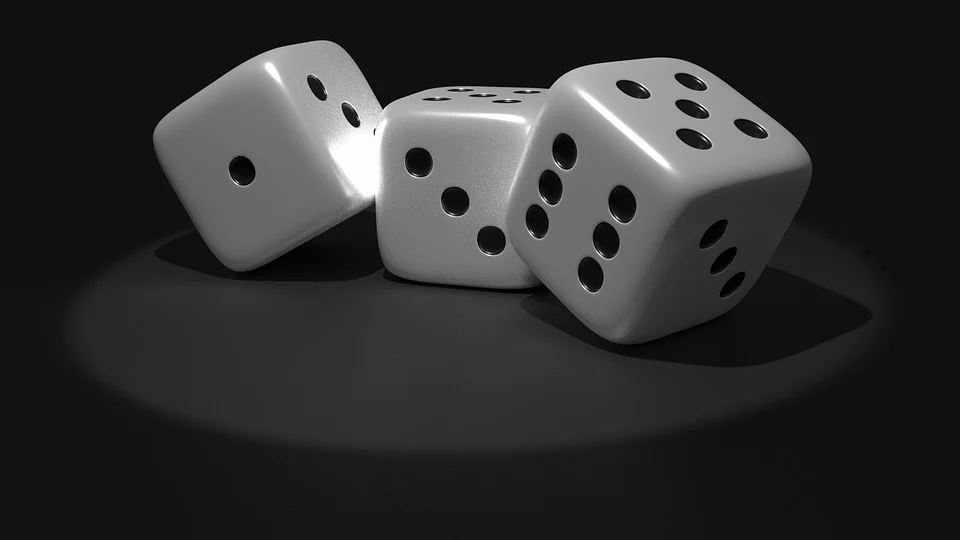 cube dice luck random numbers points gambling