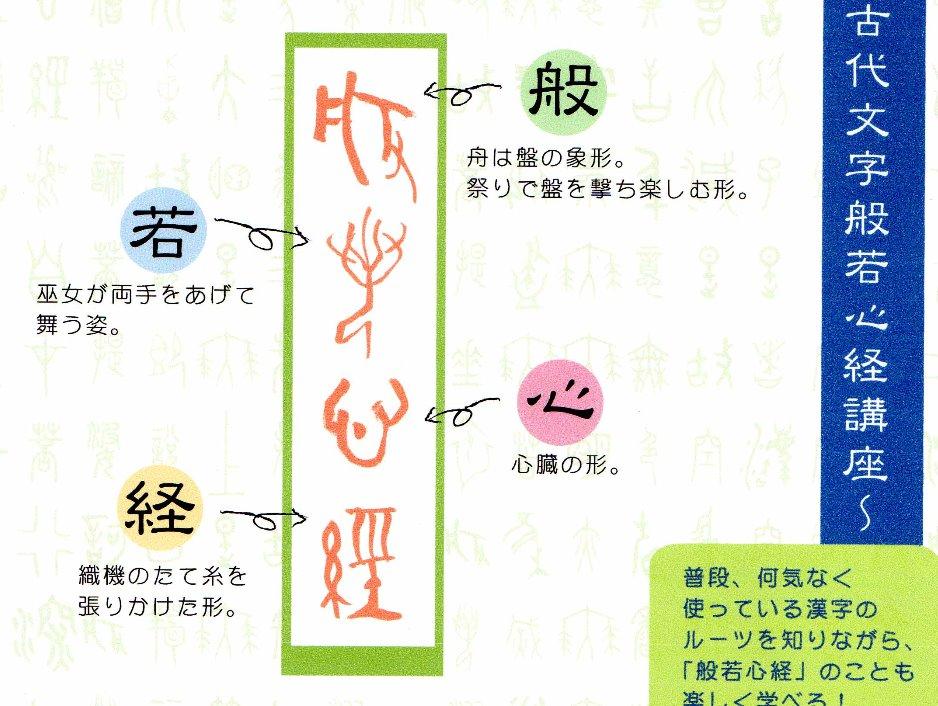 古代文字で写経!?_edited